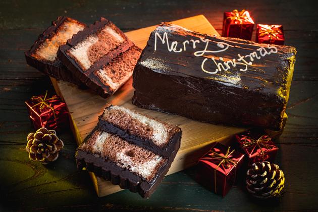 Christmas Log Bread